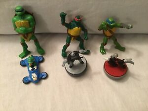 5 Turtles / 1 Luigi  Cake Baking Decorations/Toppers  Or A Toy