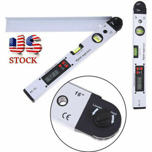 400mm Digital Goniometer Precise Protractor Electronic Angle Finder Tool Gauge $36.59