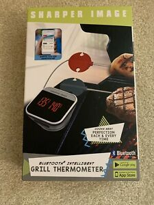 """""""BLUETOOTH  GRILL  THERMOMETER"""" __________SHARPER IMAGE______________"""