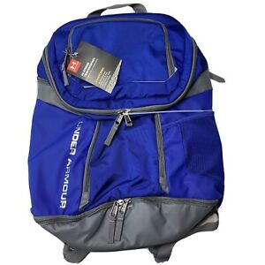 NWT Under Armour UA Striker Team Royal Blue Storm Backpack Never Used $34.99