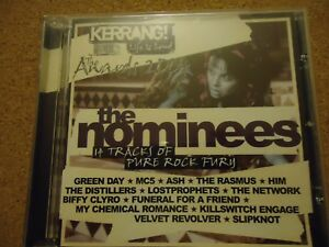 Kerrang life is loved The awards 2004 The Nominees CD
