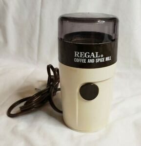 Vintage Regal Coffee and Spice Mill Grinder Model 505 - Made in France