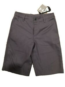 NWT Under Armour Slate Gray Youth Large Boys Golf Shorts $24.99