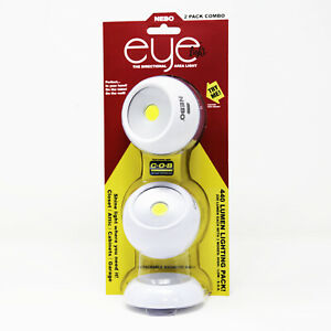 2pk Nebo Eye Light 360 Degree Directional Magnetic Base COB LED Area Lighting
