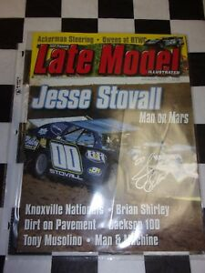 Late Model Magazine December 2012 Dirt Racing Mag Autographed Jesse Stovall 00 $9.99