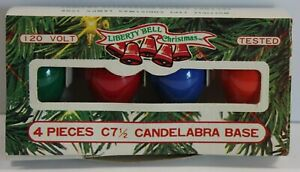 Vintage C7 Christmas Lights Replacement Bulbs Assorted Colors