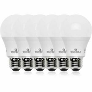 Great Eagle 100W Replacement A19 LED bulb, 5000K/Daylight,1600 Lumens (6 pack)
