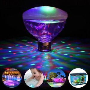 Underwater LED Glow Light Show Swimming Floating for Pool Pond Hot Tub Spa Lamp $12.89