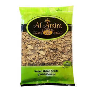 AL AMIRA - SUPER MELON SEEDS - PRODUCT OF LEBANON- ISO CERTIFIED - SALTED
