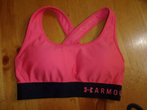 Women's Under Armour Crossback Sprts Bra,Wick Sweat & Dry Fast,Size XS,Nice