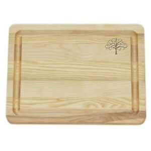 Carved Solutions Master Collection Wooden Cutting Board Small -Treeolife