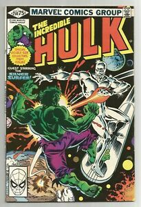 Incredible Hulk #250 VG First Print feat. Silver Surfer $12.00