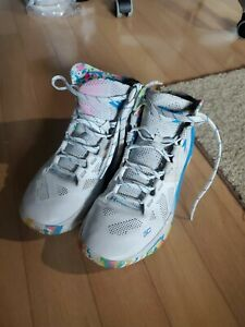 Under Armour Curry 2 Men's Basketball Shoes Birthday Surprise Party Cake Size 9 $54.99