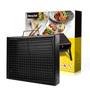 Barbecue Charcoal Grill Folding Portable Outdoor BBQ Cooking Picnics Camping