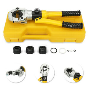 Hydraulic Pipe Crimping Tools Pex Pressing Tools With Th Jaws 16-32mm 12T in USA  $88.59