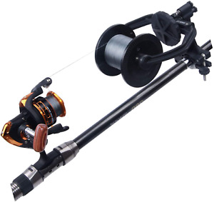 Fishing Reel Line Spooler Winder Machine Station Baitcast Portable And Stable