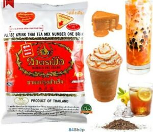 Thailand Original Thai Tea Mix Number One Brand Hot Cold Drink 400 g
