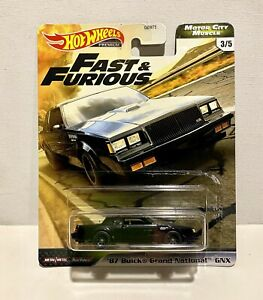 Hot Wheels Premium Fast & Furious '87 Buick Grand National GNX 2020 3 5 MCM
