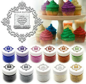 1 4 oz Real Edible Glitter 100% Food Safe Shiny Flakes BUY 3 GET 1 FREE