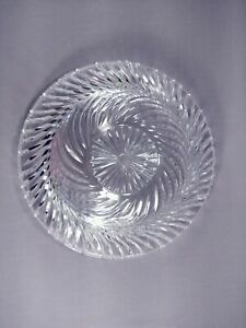 Round Clear Glass Crystal Light Bowl Cover Shade