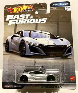 Hot Wheels 2020 fast & Furious Full Force '17 Acura NSX Premium Real Riders New