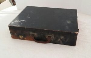 Vintage Painter#x27;s Box Artist Wood Wooden 17.5 X 13 X 4 Inches Patina Dovetail $39.99