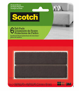 Scotch SP829-NA Felt Pads Provides Protection From Scratches, Brown