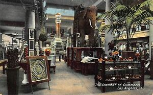 CA 1900's RARE California Interior Chamber of Commerce at Los Angeles, Calif