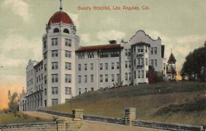 CA 1900's RARE California Sisters Hospital at Los Angeles, CALIF
