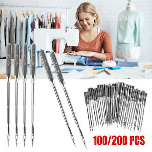 100PCS Threading Singer Sewing Machine Needles For Domestic Home Household 14 90 $8.48