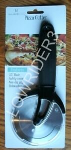 Pizza Cutter 3-1/2 inch Stainless Steel Heavy Duty Blade With Safety Cover
