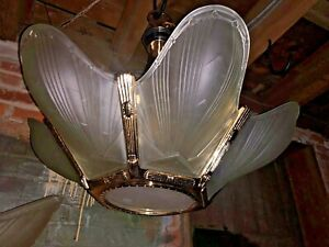 10 Murano Art-Deco-Slip Shade 25