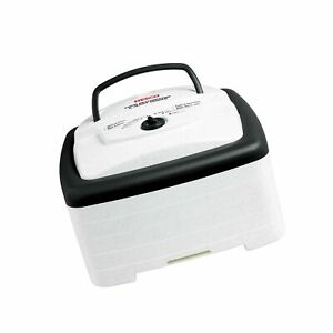 Nesco Food and Jerky dehydrator 15.25 x 10.25 x 15.63 inches White