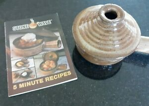 Stone Wave Ceramic Microwave Cooker -  Mint Condition