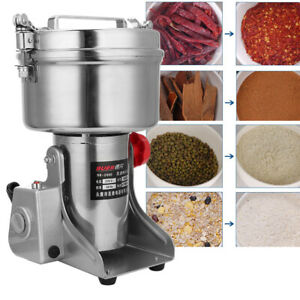 2000g Electric Grain Spices Cereal Dry Food Grinder Mill Grinding Grinder Device
