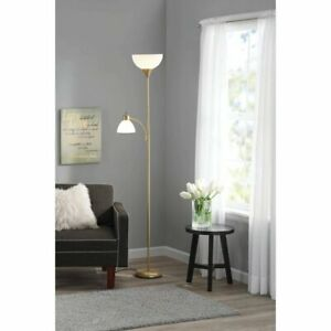 Modern Floor Lamp -72'' Combo Lamp with Adjustable Reading & Standing Lamp New