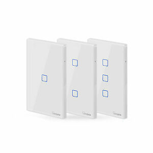 SONOFF® T2 EU/US/UK AC 100-240V 1/2/3 Gang TX Series 433Mhz WIFI Wall Switch RF