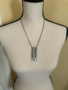 Norwegian Pewter Necklace Model No. 25