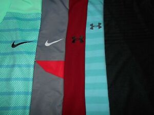 😃Lot 5 Nike Under Armour Mens Polo Shirts XL X Large 3 NWOT $109.99