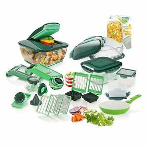 Genius Nicer Dicer Chef 35 Parts Deluxe Game Of Meat Slicer Known TV