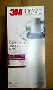3M Under Sink Water Filter System filter included  NEW Full System