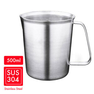HYTX Stainless Steel Measuring Cup with Marking with Handle 500ML
