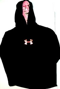 Under Armour Realtree Cold Gear Hoodie Womens Size XL black camo thumbholes $25.00