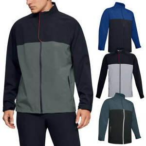 Under Armour Mens 2020 Elements Rain Waterproof Breathable Windproof Jacket $129.54