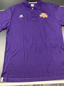 University Of Tennessee Tech Eagle Short Sleeve Shirt Adult Large Russell Dryfit $23.99