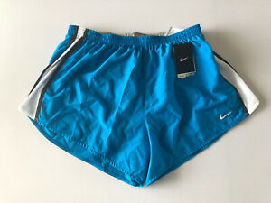 NWT MEN'S ATHLETIC RUNNING NIKE DRI FIT SHORTS Size XL 38 40 Blue White Black $25.00