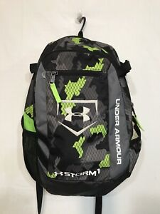 Small Gray Graphic Under Armour Storm1 Backpack $6.50