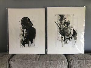 Star wars Signed ink wash art Giclee  $90.00