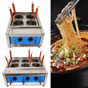 Commercial 4/6 Holes Noodles Cooker Electric Pasta Cooking Machine Pasta Makers