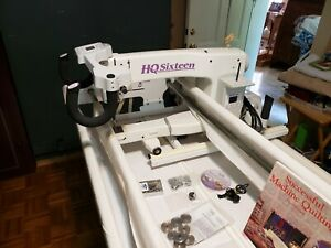 Handi Quilter Sweet Sixteen Long Arm Quilting Machine with 10 ft Table $5990.00